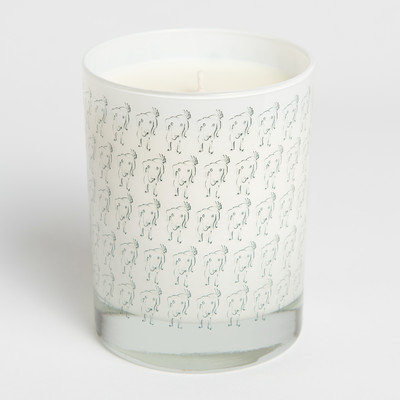 Acadian Candle 14042 Nelli Design Waggin Candle Gray