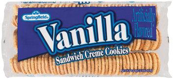 Springfield Vanilla Sandwich Creme  Cookies 32 Oz Tray