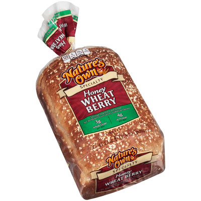 Nature's Own® Specialty Honey Wheat Berry Bread 24 oz. Bag