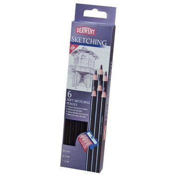 Derwent 0700836 Sketching 6-Pencil Tin Set