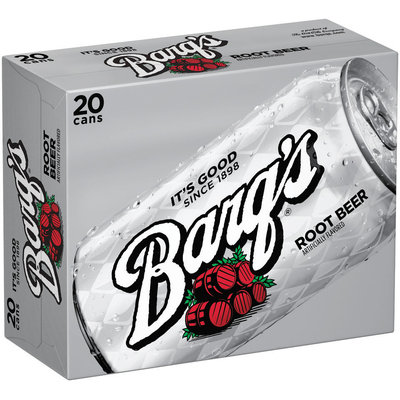 BARQ'S 12 fl oz Root Beer 20 PK CANS