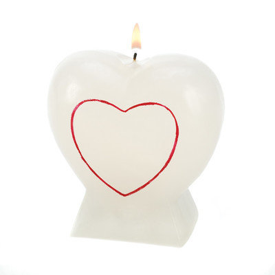Hearts & Lips Glow Candle HEARTS AND LIPS GLOW CANDLE