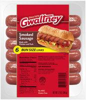 Gwaltney® Bun Size Smoked Sausage 12 oz. Pack