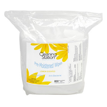 The Cleaning Station Pre-Moistened Wipes