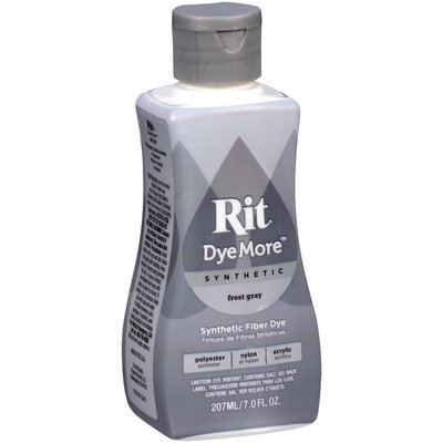 Rit® DyeMore™ Synthetic Frost Gray Dye 7 fl. oz. Plastic Bottle