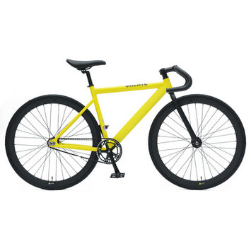 Ideacycle C8 Aero Fixed Gear Road Bike Size: 48cm, Color: Yellow
