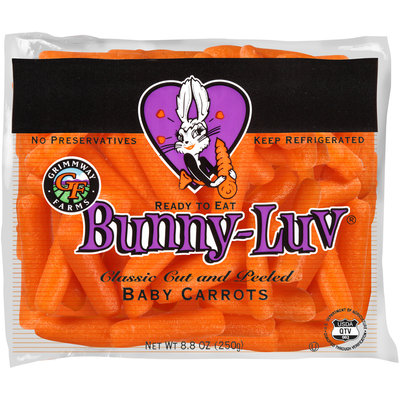 Grimmway Farms Bunny-Luv® Classic Cut & Peeled Baby Carrots