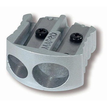 Maped Manual Pencil Sharpener, Aluminum