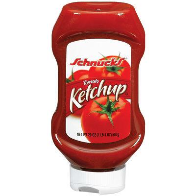 Schnucks Tomato Ketchup 20 Oz Squeeze Bottle