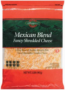 Haggen Fancy Shredded Mexican Blend Cheese 2 Lb Bag