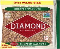 Diamond® of California Chopped Walnuts 24 oz. Bag