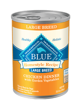 THE BLUE BUFFALO CO. BLUE™ Homestyle Recipe® Chicken Dinner with Garden Vegetables For Large Breed Adult Dogs