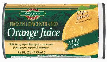 Haggen Pulp Free Orange Juice 12 Oz Can
