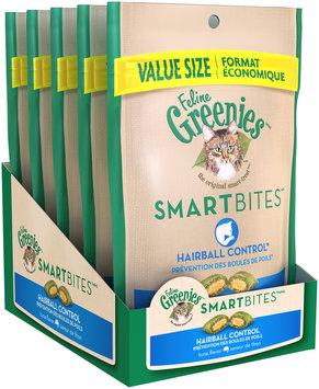 Feline Greenies® Smartbites™ Hairball Control Tuna Flavor Cat Treats 4.6 oz. Bag
