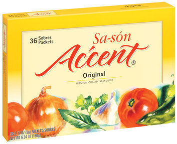 Accent Sa-Son Original 0.17 Oz Packets Seasoning 36 Ct Box