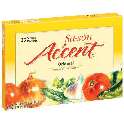 Accent Sa-Son Original 0.17 Oz Packets Seasoning 36 Ct Box