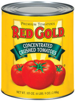 Red Gold Concentrated Crushed Tomatoes 105 Oz Can