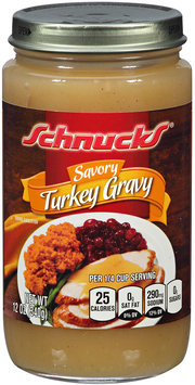 Schnucks® Savory Turkey Gravy 12 oz. Jar