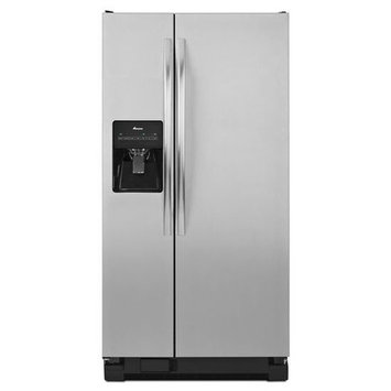 Amana ASD2275BRS 22.0 Cu. Ft. Stainless Steel Side-By-Side Refrigerator - Energy Star