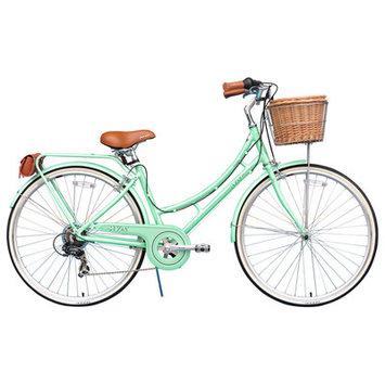Xds Bikes Co. Women's Nadine 7-Speed Cruiser Bike Color: Pearl Mint