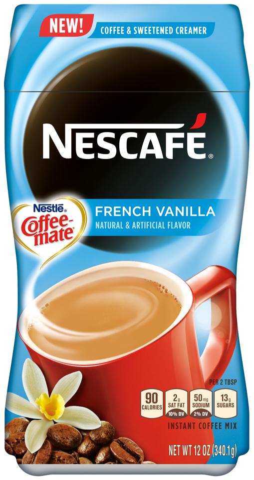 NESCAFÉ With Coffee-Mate French Vanilla