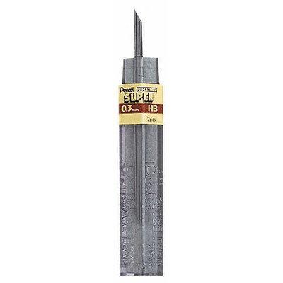Pentel Super Hi Polymer Lead Point Size: 0.3mm, Lead type: 3H