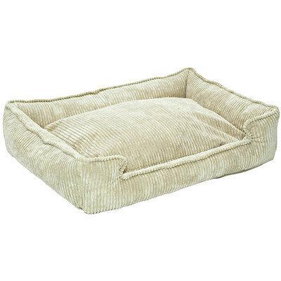 Jax And Bones Corduroy Lounge Bolster Pet Bed Size: Medium / Large (39
