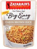 Zatarain's® Big Easy Cajun Brown Rice 8.5 oz. Pouch