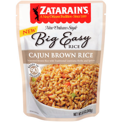 Zatarain's® Big Easy Cajun Brown Rice 8.5 oz. Pouch