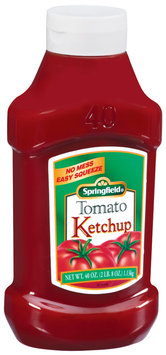 Springfield Tomato Ketchup 40 Oz Squeeze Bottle