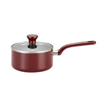 T-fal Excite 3-qt. Red Covered Saucepan