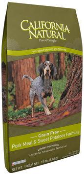 California Natural® Grain Free Pork Meal & Sweet Potatoes Formula Adult Dog Food