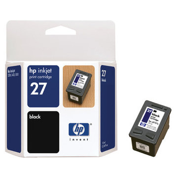 HP C8727AN (HP27) Inkjet Cartridge, Black - Kmart.com