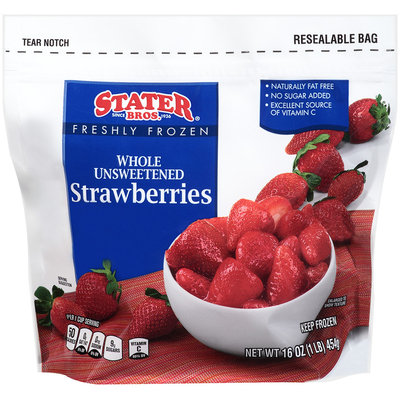 Stater Bros.® Freshly Frozen Whole Unsweetened Strawberries