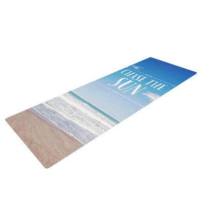 Kess Inhouse Chase the Sun by Susannah Tucker Beach Sky Yoga Mat