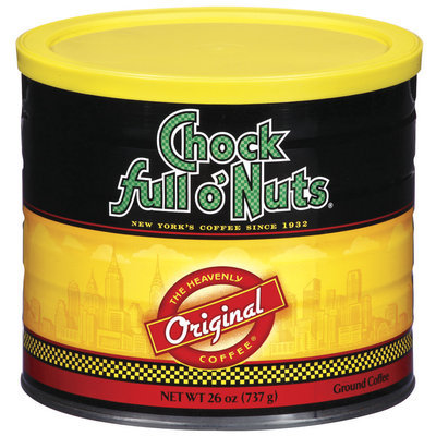 Chock Full O' Nuts Original Ground Coffee 26 Oz Canister