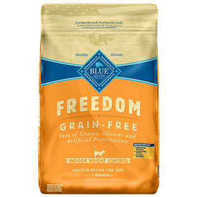 THE BLUE BUFFALO CO. BLUE™ Freedom® Grain-Free Indoor Weight Control Chicken Recipe For Adult Cats
