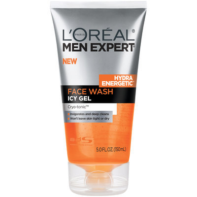L'Oréal Paris® Men Expert® Hydra Energetic™ Icy Gel Face Wash 5 fl. oz. Squeeze Bottle