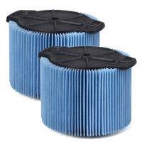 Workshop Wet/dry Vacs Fine Dust Filter Size: 3 - 4.5 Gallon