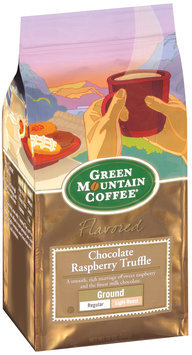 Green Mountain Coffee Roasters Flavored Chocolate Raspberry Truffle Ground Signature Coffee