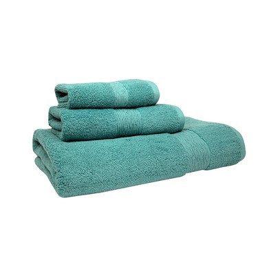 Jessica Simpson Home Signature Wash Cloth (Set of 2), Aqua Sea