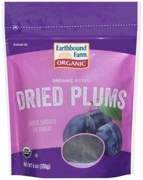 Earthbound Farm® Organic Pitted Dried Plums 6 oz. Pouch