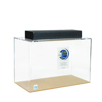 Clearforlife Rectangle Acrylic Aquarium Tank Color: Clear, Size: 20