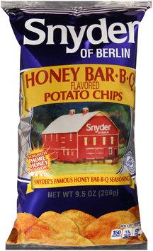 Snyder of Berlin® Honey Bar.B.Q. Flavored Potato Chips 9.5 oz. Bag