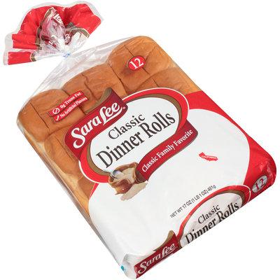 Sara Lee® Classic Dinner Rolls 12 ct Bag