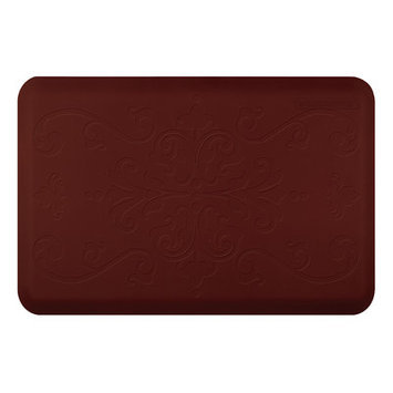 Wellness Mat Llc Wellness Mats Motif ME32WMR Entwine Anti Fatigue Mat Burgundy