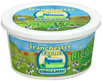 Franchester Farms™ Organic Ricotta Cheese 15 oz. Tub