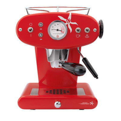 Illy Caffe & Espresso Francis Francis for illy X1 iper Espresso Machine Color: Red