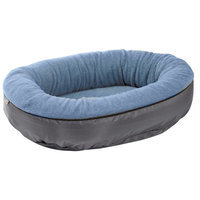 Bowsers Pet Products 11136 27 in. x 22 in. x 7 in. Eco Plus Orbit Bed Sky Blue