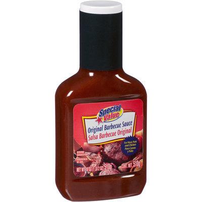Special Value Original Barbeque Sauce 18 oz. Bottle